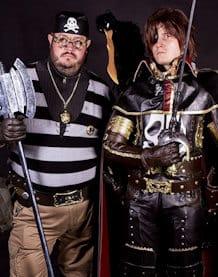 Association cosplay Lille nord pas de calais captain harlock albator