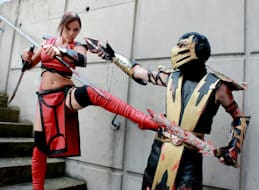 Association cosplay Lille nord pas de calais mortal kombat