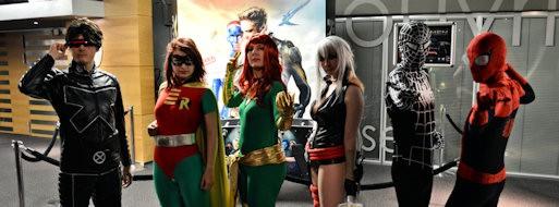 Association cosplay Lille nord pas de calais matinée magique kinepolis